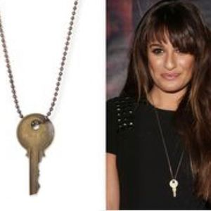 """The Giving Keys """"Strong"""" Gold Necklace"""